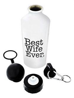 Best Wife Gifts Best Wife Ever Wife Wedding Anniversary Gifts for Women Gift Aluminum Water Bott ...