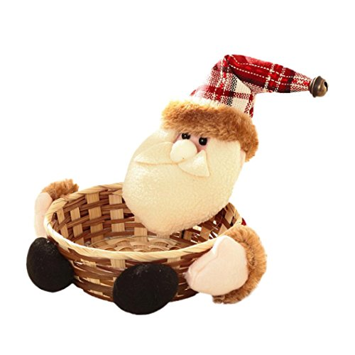 Gallity cmx cm christmas candy storage basket