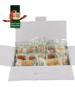 BAKLAVA SWEET CAKES GOURMET GIFT Box (10 Oz) : 12 pcs bite size, 6 different Baklava Pastry Vari ...