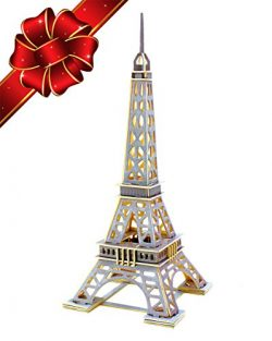 CYBER MONDAY SALE | Eiffel Tower 3D Puzzle Kit – Top Gift for Kids – Building DIY To ...