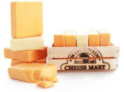 Cheddar Ascent Gift Basket by Wisconsin Cheese Mart