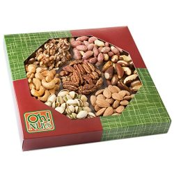 Healthy Dry Roasted Salted 7 Variety Food Gift, No Additives NO OIL Great Gift for Him or Her, V ...
