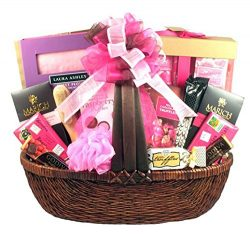 Congratulations on Your Pregnancy! Spa and Chocolate Gift Basket for Expectant Mothers