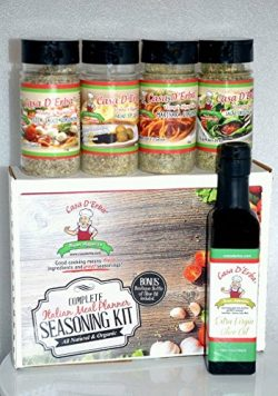 Organic Italian Seasoning Meal Prep – Authentic New York Italian Seasoning – Famous  ...