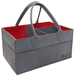 Diaper Caddy Friendly Marcy   Portable Baby Storage Basket   Car Travel Organizer   Gift Registr ...