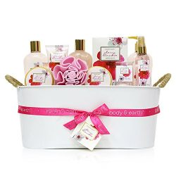 Gift Baskets for Women, Body & Earth Bath Gifts for Women, Luxurious Spa Gift Set for Her, C ...