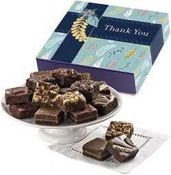 Fairytale Brownies Thank You Magic Morsel 18 Gourmet Food Gift Basket Chocolate Box – 1.5  ...