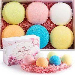 Bath Bombs kit made by VENERE, New gift set ideas for women, men, mom, girls, teens, birthday, e ...