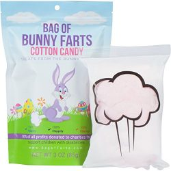 Bag of Bunny Farts (Cotton Candy) Funny For All Ages Unique Gag Gift for Friends, Mom, Dad, Birt ...