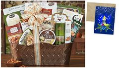 Bon Appetit Gift Basket for Christmas and personalized card mailed seperately, CD3241546