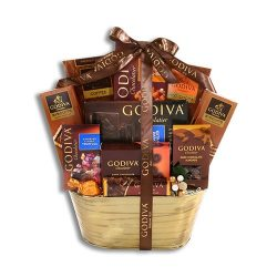 Deluxe Godiva Gift Basket