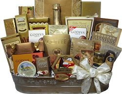 Delight Expressions Lasting Impression Holiday Gourmet Gift Basket