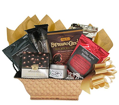 Gourmet Coffee Christmas Gift Basket for Men and Women ...
