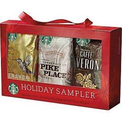 Starbucks Holiday Coffee Sampler (Holiday Blend, Caffè Verona, Café Estima Blend, Veranda Blend, ...