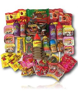 Mexican Candy Variety Care Package by AtHomePlus (40 Count) –Perfect Gift for College Dorm ...