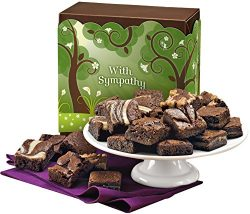 Fairytale Brownies Sympathy Magic Morsel 24 Gourmet Food Gift Basket Chocolate Box – 1.5 I ...