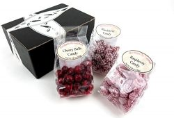 Hermann the German Bavarian Hard Candy 3-Flavor Variety: One 5.29 oz Bag Each of Blackberry, Ras ...