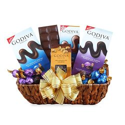 California Delicious Godiva Sampler Gift Basket