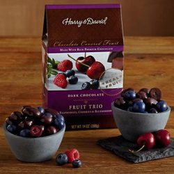 Dark Chocolate Berry Trio – Gift Baskets & Fruit Baskets – Harry and David