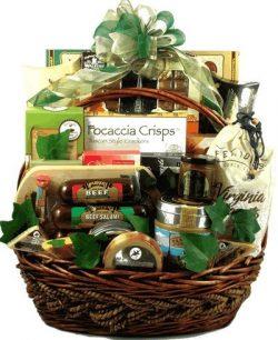 Deluxe Gourmet Treats Exquisite Gift Basket | Corporate Gift Basket or Birthday Gift Basket