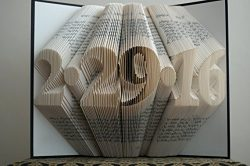 Folded Book Art – Unique Personalized Gift – Your Name Here – Birthday Gift &# ...