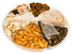 Nutty For You Holiday Gift Freshly Roasted Nuts, Roasted salted almonds, buttery cashews, tasty  ...