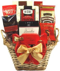 Delight Expressions Say It with Chocolates Gourmet Gift Basket – Mother's Day Gift Idea!