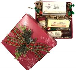 Hickory Farms Hostess Gift, Food Gift Baskets, Sampler Set 12.15 oz.