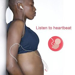 Heartbeat Baby Monitor Foruchoice Safe Portable Listening Device Ideal for Home Use Perfect Gift ...
