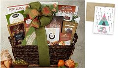Gourmet Choice Gift Basket for Birthday and personalized card mailed seperately, CD870937