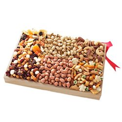 Dried Fruit and Nut Party Gift Tray, 2.5lb, A Healthy Gift Basket