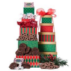 Anniversary Ghirardelli Truffles Gift Tower