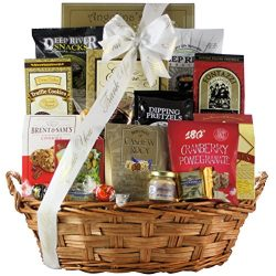 GreatArrivals Snack Attack Thank You Snack Basket, Large, 5 Pound