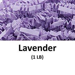 Crinkle Cut Paper Shred Filler (1 LB) for Gift Wrapping & Basket Filling – Lavender |  ...