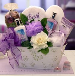 Soothe and Relax with Lavender Gift Basket | Mothers Day | Birthdays| Christmas