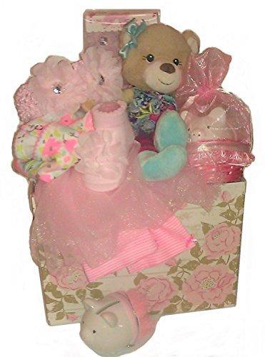 tutu cute newborn baby girl gift basket ubaskets ubaskets