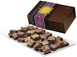Fairytale Brownies New Year Magic Morsel 36 Gourmet Food Gift Basket Chocolate Box – 1.5 I ...