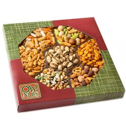 Exotic Snacks Party Food Gift Tray, Holiday or Family Game Night Basket, Spicy & Hot Cajun F ...