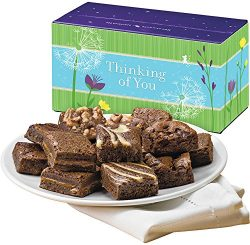 Fairytale Brownies Thinking of You Magic Morsel Dozen Gourmet Food Gift Basket Chocolate Box &#8 ...