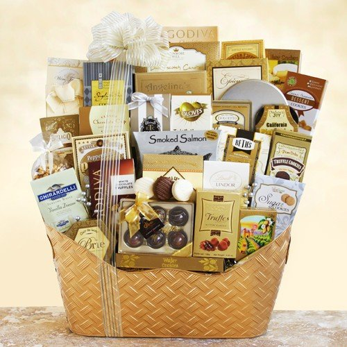 Christmas Gift Baskets For Families: Outside The Snow Is Falling