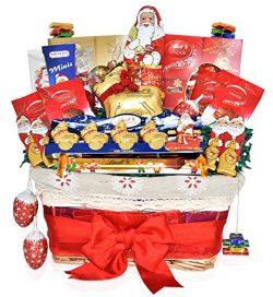 Christmas Lindt Chocolate Variety Gift Basket – Lindt Lindor, Santa, Reindeer, Christmas S ...