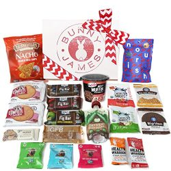 Natural, Organic Non GMO Gourmet healthy snacks Holiday Gift Box