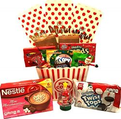 Christmas Gifts – Holiday Gifts – Theatre Gift Basket – Popcorn Buckets Filled ...