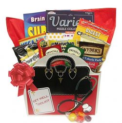 Get Well Toolkit a Get Well Gift Basket with Puzzle Books for Men and Women Arrives Wrapped and  ...