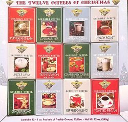 Coffee Master – The Twelve Coffees of Christmas
