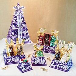 Royal Velvet Chocolate Gift Tower – Deluxe Assortment