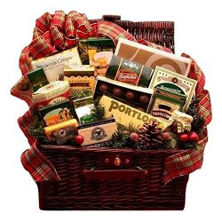 Let It Snow Holiday Gift Basket