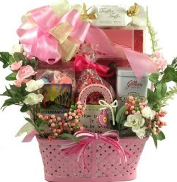 Gift Basket Village Signed, Sealed, Delivered Personalized Gift Basket for Women