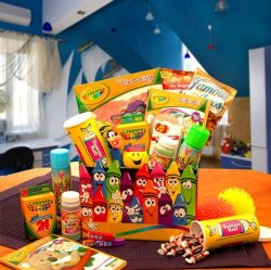 O What Fun! Activity Gift Basket for Kids -Organic Stores
