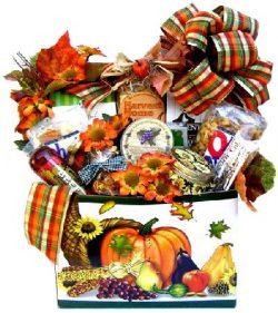 Thanksgiving Meat and Cheese Gift Basket – Size Large